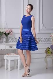 blue graduation dresses royal blue a line cocktail graduation dresses