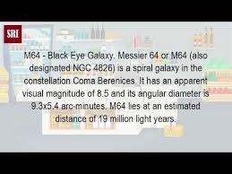 M64 The Blackeye Galaxy Black M64