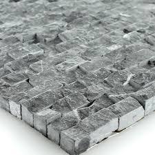 Wohnzimmer Naturstein Naturstein Wand Mosaik 3d Brickstones Verblender Anthrazit Amazon