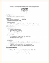 100 resume templates for receptionist position sample resume