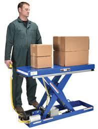 used electric lift table vestil narrow scissort lift tables