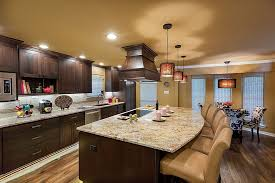 light granite countertops with dark cabinets marvelous dark kitchen cabinets with light countertops with hanging