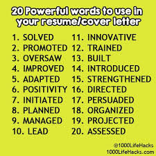 Best Words For Resume by 31 Best Jobs Images On Pinterest