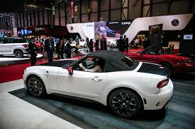fiat spider white 2017 fiat 124 spider abarth confirmed for us with nyc debut