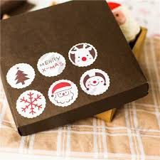 Baking Favors by 1600set Diy Baking Seal Stickers Santa Claus Deer Gift Tags