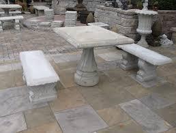 Round Concrete Patio Table Concrete Patio Furniture Round Table U2014 Home Ideas Collection