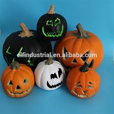 plastic pumpkins hot sales large led lighted plastic pumpkins with vire