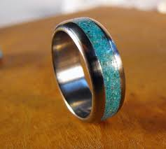 Male Wedding Rings by Best 25 Turquoise Wedding Band Ideas On Pinterest Turquoise