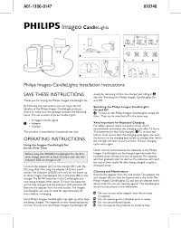 philips indoor furnishings 691086048 user guide manualsonline com
