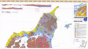 jordartskort over danmark nordjylland soil map of denmark