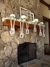 Fireplace Mantel Decoration by Mantle Decorations For Wedding Add A Modern Twist To The