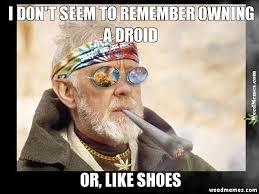 Droid Meme - weed memes maker