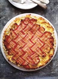 recette de cuisine salé tarte salée aux pommes de terre et au bacon ricardo