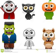 halloween characters set 2 royalty free stock photos image 35175468