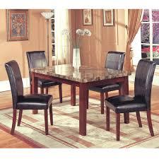 k u0026 b furniture rectangular leg table maple dining tables at