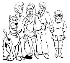 25 scooby doo images coloring books halloween