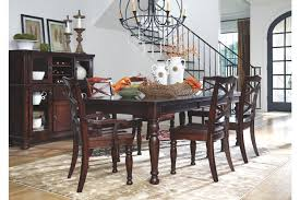 dining room table for 2 porter dining room table ashley furniture homestore