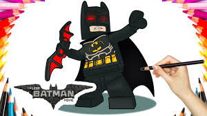 lego batman movie coloring book pages video kids