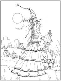 halloween coloring books adults halloween coloring
