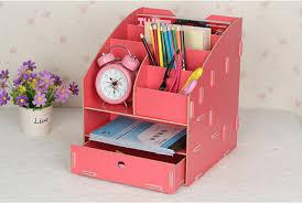 2018 diy creative office rack desktop file holder document tray