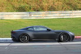 aston martin vanquish 2019 aston martin vanquish spied on nurburgring hybridisation