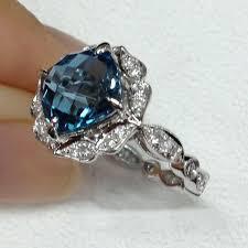 blue topaz engagement rings blue topaz wedding ring best 25 topaz engagement rings ideas on