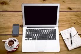 ordinateur portable ou de bureau image libre ordinateur portable papier entreprise ordinateur