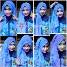 tutorial hijab segi empat paris simple saudia tassel 6 cara hijab segi empat sederhana