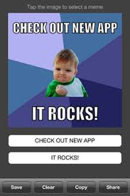 How To Use Meme Generator - make your own meme 20 meme making iphone apps hongkiat