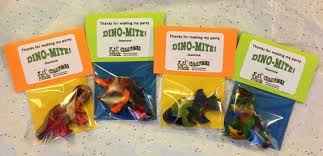 dinosaur party favors these favors will guests roaring with delight big dinosaur