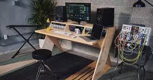Music Studio Desk by Do You Guys Have Any Ideas For Both Functional And Aesthetic Home