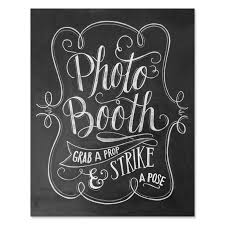 photo booth sign val photo booth sign wedding photo booth print grab a