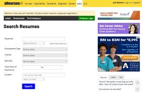 Resume Access Advertise With Allnurses Com U2013 Resume Access
