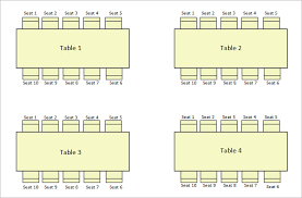 10 best images of seating chart downloadable templates