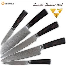 kitchen knives set sale best damascus kitchen knives set aus 10 damascus steel 8 inch chef