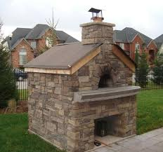 outdoor brick fireplace with pizza oven wpyninfo