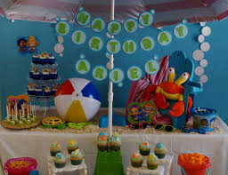 bubble guppies beach day birthday
