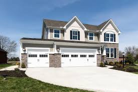 houses with big garages new homes for sale at stonebridge meadows in troy oh within the