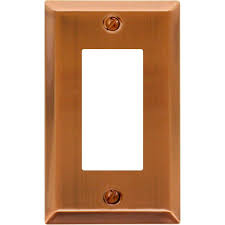 light switch covers 3 toggle 1 rocker hton bay tiered 1 decora wall plate antique copper cast for