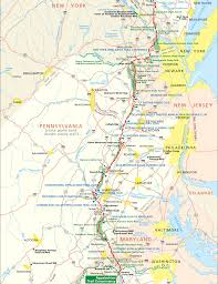 Appalachian Trail Pennsylvania Map by Appalachian 5 Etappe