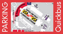 rutgers football parking map dots athletic event parking