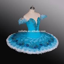 bly1095 royal blue child professional classical ballet pancake