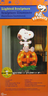 peanuts halloween pre lit indoor outdoor window decor snoopy