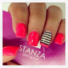 stanzasalon gelish nail design stanza nails pinterest gelish