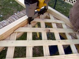 Decks With Attached Gazebos by Installing Deck Lattice How Tos Diy