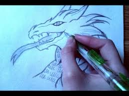 how to draw a dragon step by step for beginners youtube