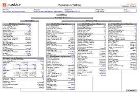Six Sigma Excel Templates Lean6 Six Sigma Templates Leanmap