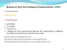 bureau de vote composition elections professionnelles 2014 réunion de préparation ppt télécharger