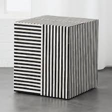 black and white side table taylor bone inlay side table sitting area living rooms and cozy