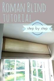 How To Make Window Blinds - window blinds roman blinds for arched windows with a shaped top